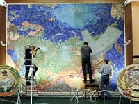 Conservators restore the precious map of the USSR. 248028.jpeg